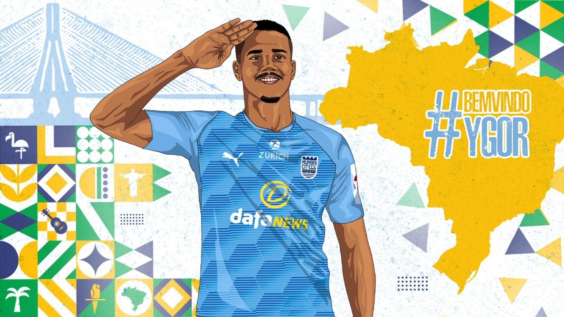 Mumbai City secure loan move for Brazilian forward Ygor Catatau